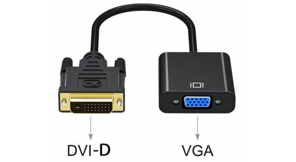 تبدیل DVI (D) به VGA