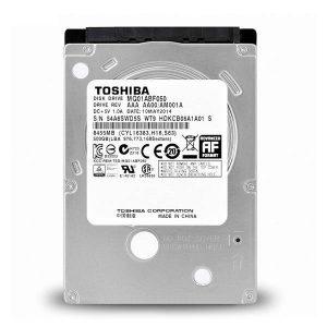 هارد دیسک اینترنال 2.5 اینچی توشیبا ظرفیت 500 گیگابایت